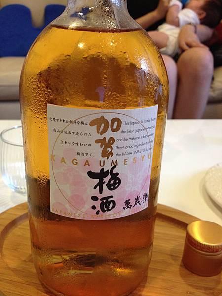日本加賀梅酒 alc.14%