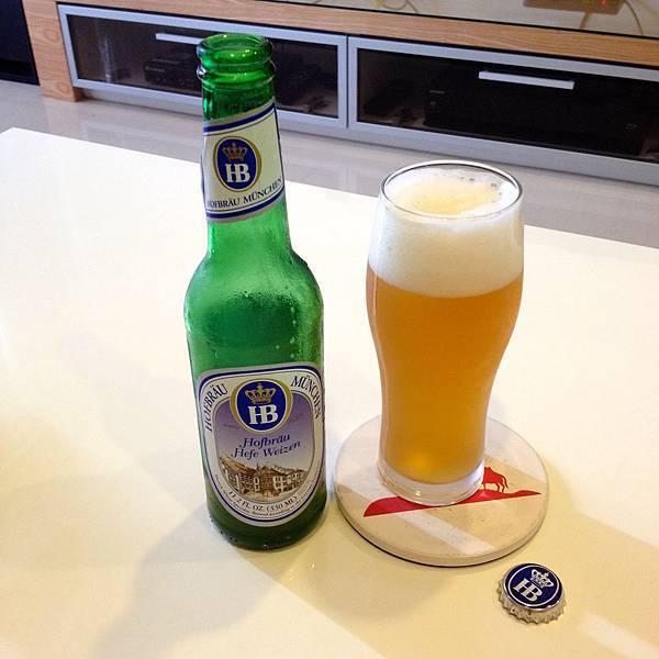 德國慕尼黑皇家小麥白啤酒 alc.5.1%
