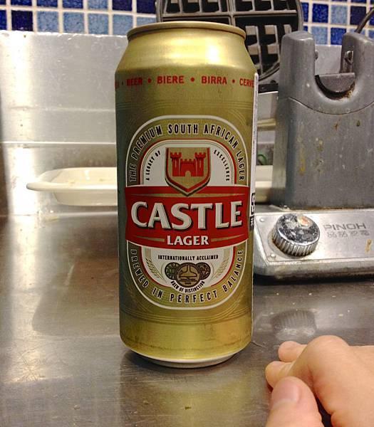 南非Castle 卡托斯拉格啤酒alc.5%