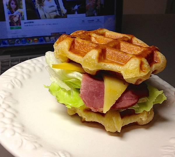 waffle堡