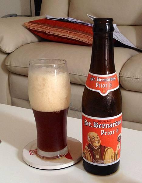比利時St Bernardus Prior 8 啤酒 alc.8%