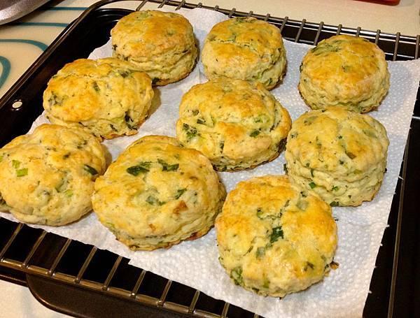 青蔥scone-2
