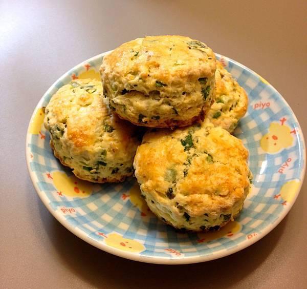 青蔥scone-3