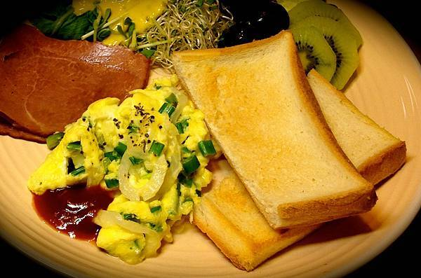 青蔥蛋+起司!