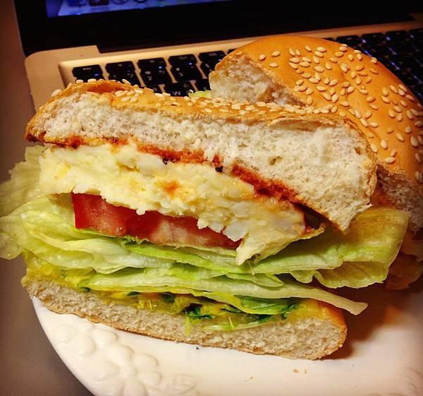 薯泥漢堡包:)