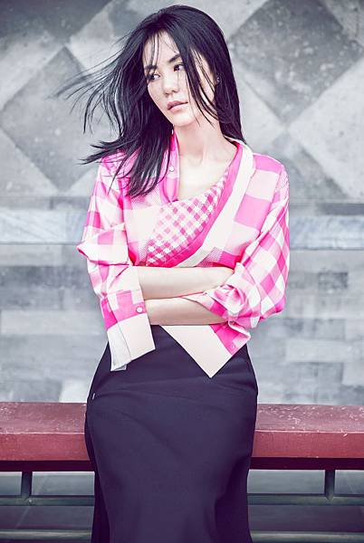 Faye Wong by Chen Man for Elle China October 2014_02