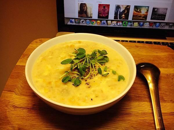 馬鈴薯玉米濃湯