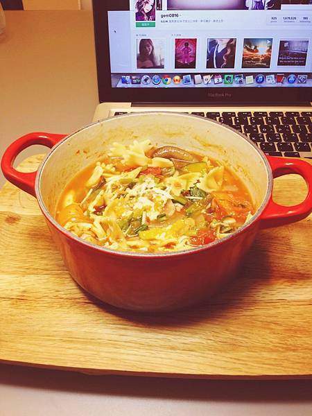 番茄蔬菜雜燴湯