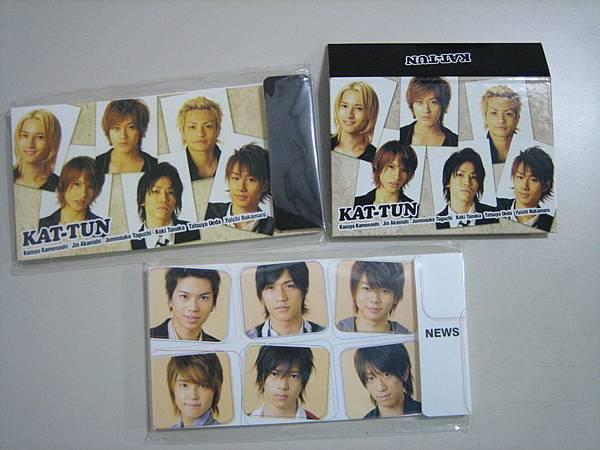 KAT-TUN&NEWS票冊、相簿