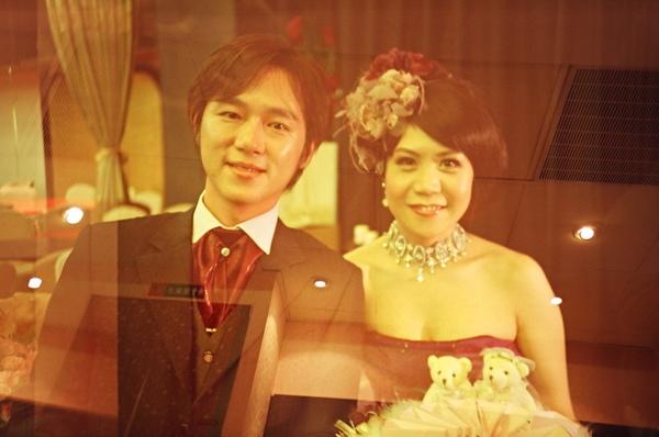 超哥結婚也拍成靈異照片!!