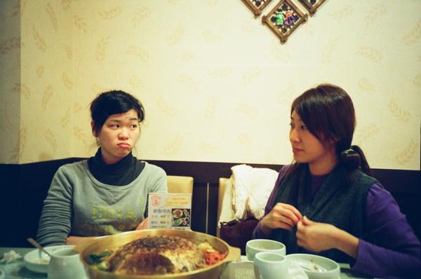 和阿毛阿摳去吃韓式烤肉