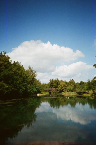 琵琶湖的雲