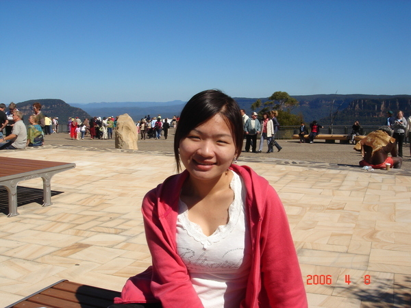 in blue mountain