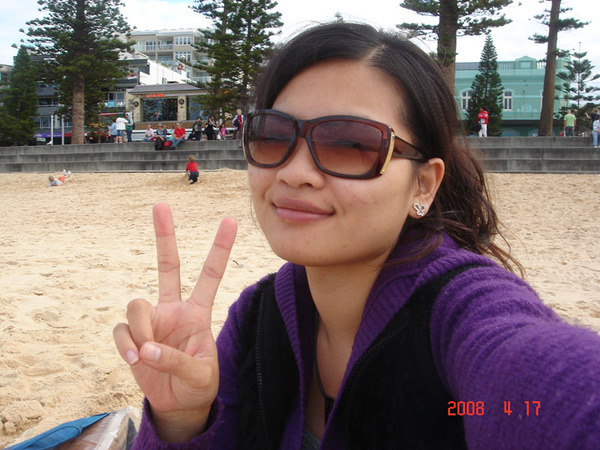 my last photo in Manly