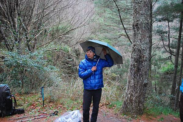 DAY2 登山口 第一堂 雨傘的好處