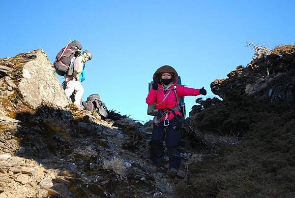 DAY3 第三堂 中級攀岩 YA 我爬上來了~
