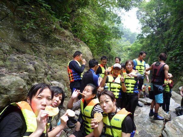 第二戰 溯溪 進階班-邁向金岳大瀑布