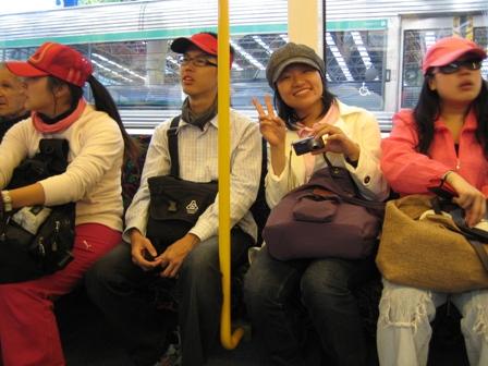 第一次在澳洲搭火車