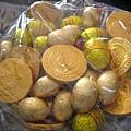 Linda送的金幣巧克力