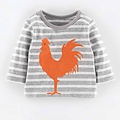 Soft Stripy Logo T-shirt (Grey Marl 2-3Y).jpg