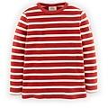 Waffle Mariner T-shirt(Red Ecru 6-7Y).jpg
