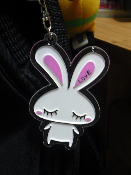 LOVE兔  吊飾.JPG