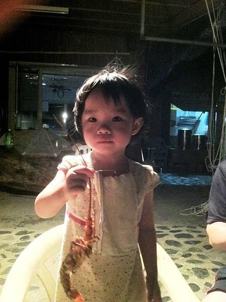 3歲的蔡小妹