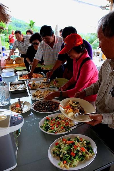都蘭草堂 午宴