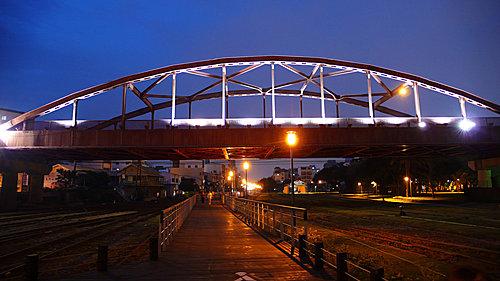 高雄舊港站 自行車道