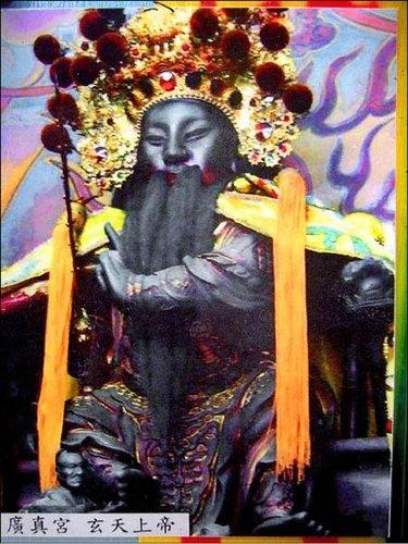 廣真宮 提供的 失竊 高兩尺六 玄天上帝 金尊照片.jpg