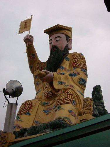 53廟後有一座高二十二尺的 孫臏真人 神像.jpg