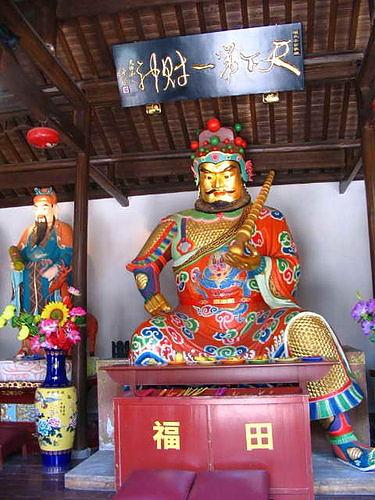 杭州 靈順寺,又名華光廟 內的 武財神殿.jpg