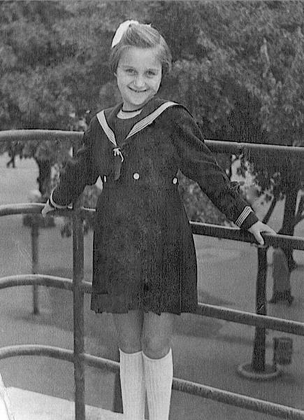Lidia as a young girl