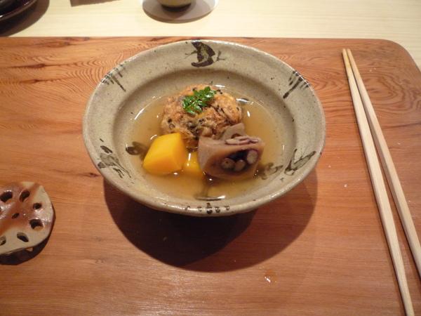 紅豆蓮根煮櫻花蝦