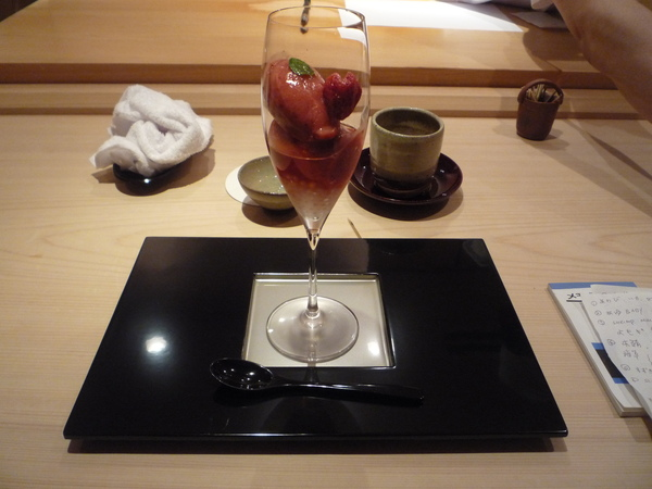 草莓Sorbet配Rose Champagne