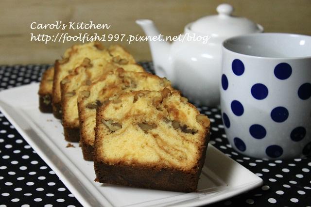 焦糖奶油核桃磅蛋糕 10.JPG