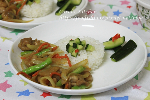 味噌雞肉炒野菜 06