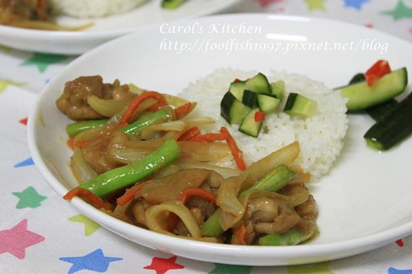 味噌雞肉炒野菜 05
