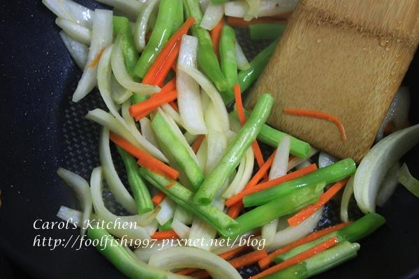 味噌雞肉炒野菜 03