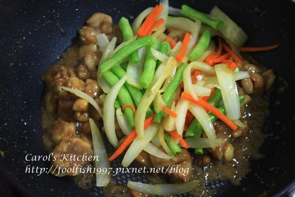 味噌雞肉炒野菜 04