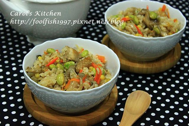 菇菇雞肉雜炊飯IMG_9962