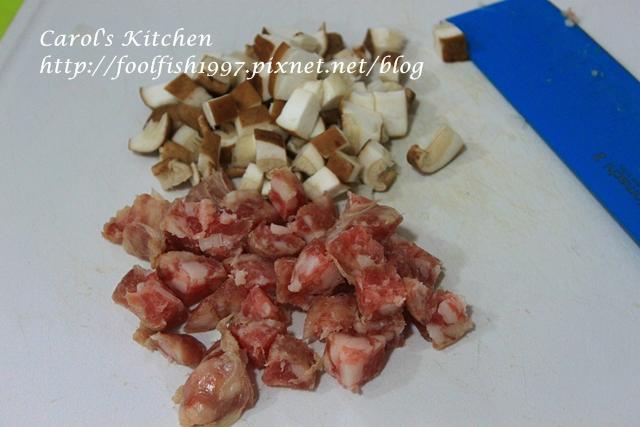 焗烤菇菇香腸蛋盅IMG_1316