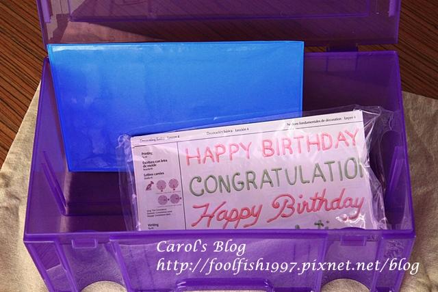 蛋糕裝飾收納箱IMG_3194