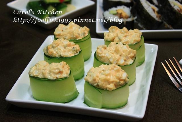 小黃瓜蛋沙拉壽司IMG_4044