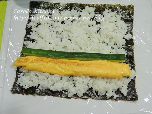 小黃瓜蛋沙拉壽司DSCN0355
