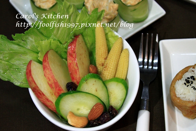 小黃瓜蛋沙拉壽司IMG_4054