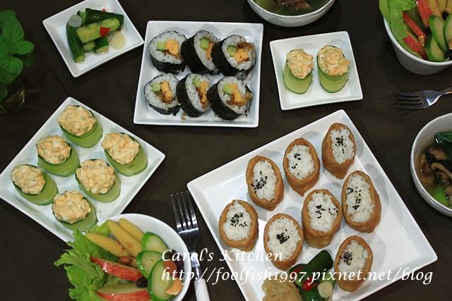 小黃瓜蛋沙拉壽司IMG_4057