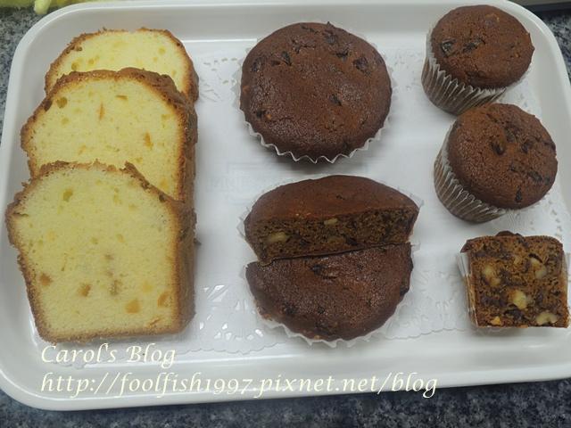 桂圓核桃糕、橘子蛋糕和水果蛋糕DSCN1228