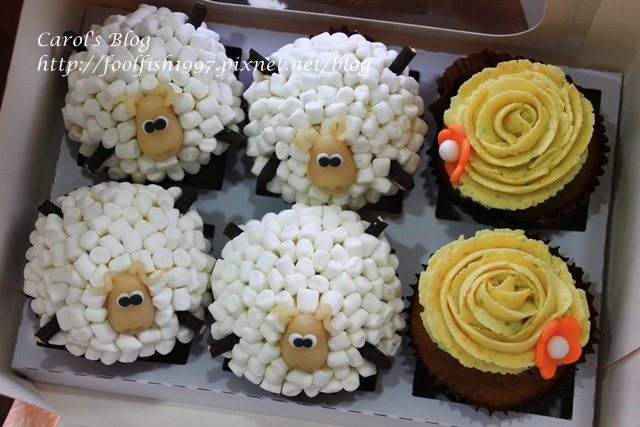 小綿羊杯子蛋糕IMG_8351