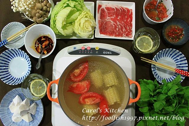 塔香蕃茄火鍋沾醬IMG_5207